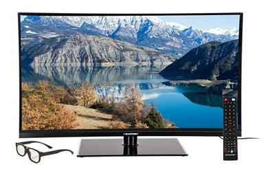 "TV 3D LED 47"" Blaupunkt BLA-47/333I Full HD 100 Hz + 4 lunettes 3D"