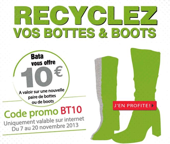 10€ de réduction sur les bottes et boots