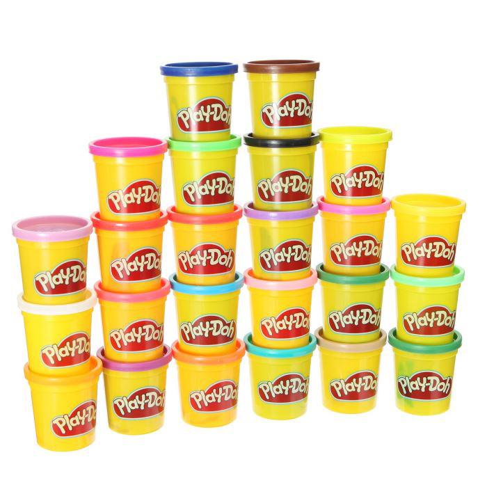 24 Pots De Pâte À Modeler Play Doh