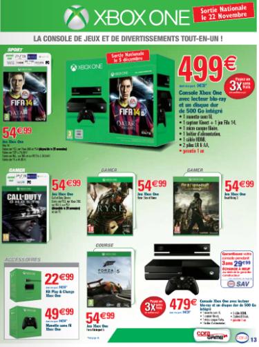 Jeux Xbox One / PS4 / Xbox 360