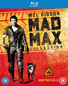 Blu-Ray Trilogie Mad Max
