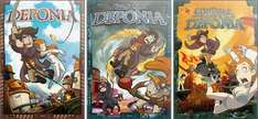 Deponia + Deponia 2 : Chaos on Deponia + Deponia 3 : Goodbye Deponia