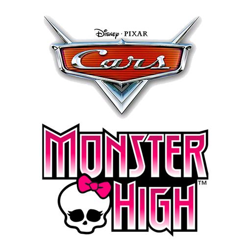 Un jouet Cars ou Monster High acheté = -50% sur le deuxième
