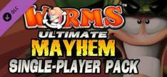 Worms Ultimate Mayhem - Single Player Pack DLC gratuit