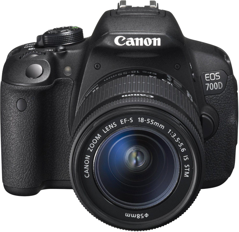 Appareil Photo Reflex Canon EOS 700D, Nu à 489.98€ ou avec EF-S18-55 IS STM