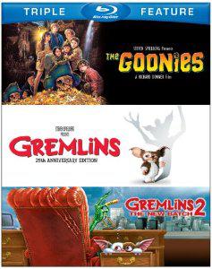 Coffret Blu-ray Les Goonies / Gremlins / Gremlins 2