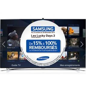 """Télévision 55"""" Samsung UE55F8000 LED 3D (Avec ODR 15%)"""