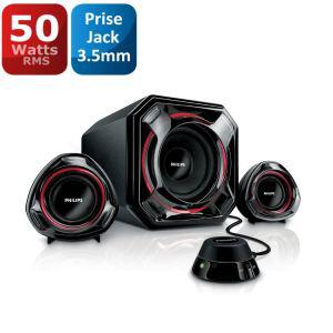 Enceintes multimédia 2.1 Philips SPA5300 noir (-10€ supplémentaires via Buyster)