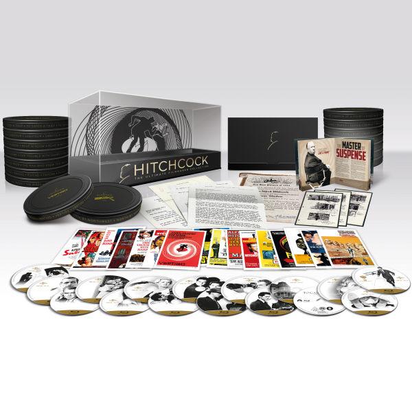 Coffret Hitchcock The Ultimate Filmmaker Collection (16 Blu-ray dont 15 en français)