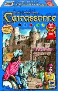 Jeu de stratégie Carcassonne
