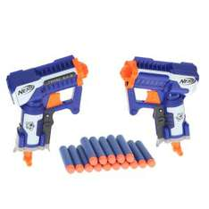 2 pistolets nerf Elite Triade avec 15 flèchettes