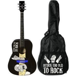 Pack Guitare Acoustique The Simpson's + housse