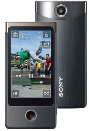 """Caméscope de poche Sony Bloggie Touch (12.8 Mp, Full HD, Zoom numérique 4x, Ecran tactile 3"""", 4 Go) - Reconditionné"""