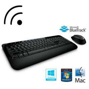 Lot de 2 claviers sans fil Microsoft Desktop 2000 Noir (3.40€ si paiement Buyster) (ODR 30€)