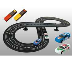 Circuit de voiture Speedtrack Junior (Inclus 2 voitures + 2 manettes)