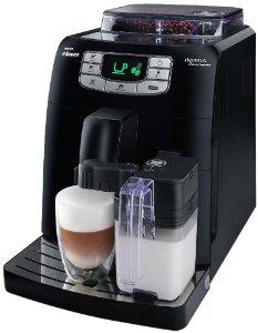 Machine à Espresso Automatique Saeco HD8753/11 Intelia One Touch Cappuccino Noire