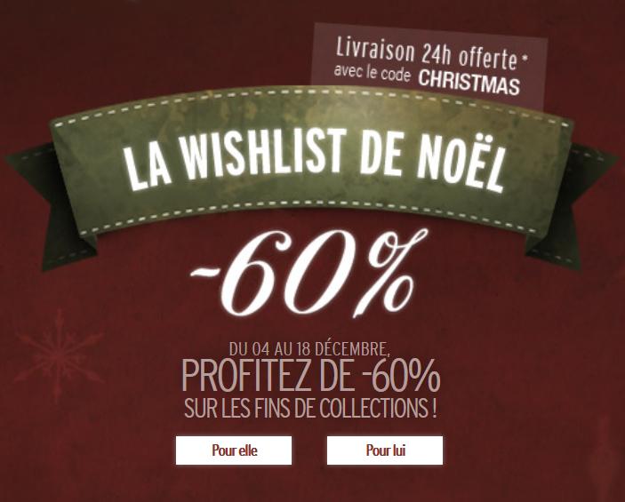 -60% sur les fins de collection + porte clés offert + livraison Chronopost offerte (dès 50€)