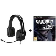 Micro-Casque Tritton Kunai + Call Of Duty Ghosts PS3