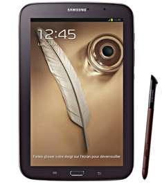 "Samsung Galaxy Note 8"" WiFi 16 Go marron (Avec ODR de 50€)"