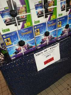 Pack XBox 360 4GO + Kinect + Kinect Adventure + Disneyland
