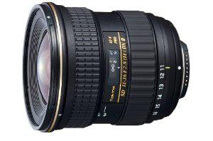Objectif Tokina AT-X PRO DX II Canon 11 à 16 mm f 2.8 Noir