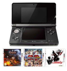 Nintendo 3DS + Castlevania Lords of Shadow Mirrors of Fate, Resident Evil The Mercenaries, Tekken 3D (+ Code Super Mario 3D Land)(2 autres pack dispo)