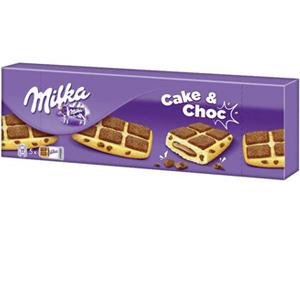 6 paquet de Gâteaux Milka Cake & Choc