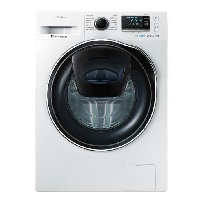 Lave linge Samsung WW90K6414QW - 9 kg, 1400 trs/min, Moteur induction (via ODR de 60€)