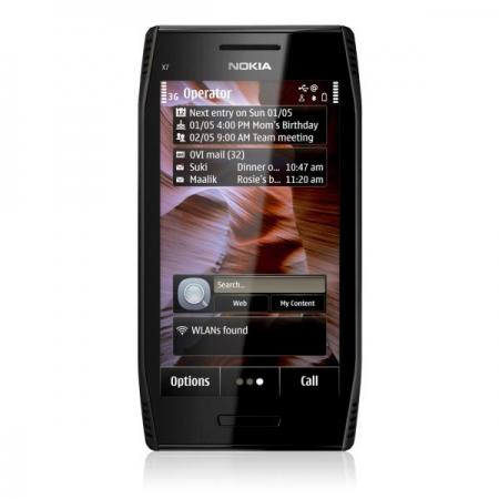 Smartphone Nokia X7 Noir