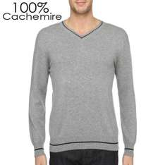Pull Homme Rodier 100 % cachemire - Gris