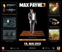 Max Payne 3 édition collector sur Xbox 360