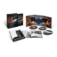 Trilogie Batman: Begins, The Dark Knight et The Dark Knight Rises - 6DVD + 1 livret