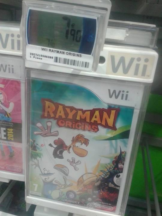 rayman origin sur Wii