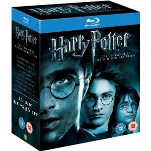 Harry Potter , Années 1 à 8 en Blu-ray - Import UK