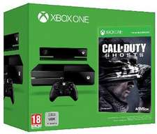 Console Xbox One + Call of Duty Ghosts (Dématérialisé) [En stock]