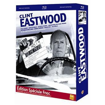 """Coffret Blu-ray Clint Eastwood (8 films) Edition spéciale avec le livre d'entretiens """"Eastwood par Eastwood"""""""