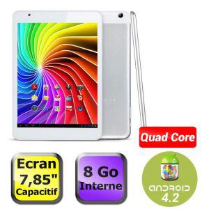 """Tablette Polaroid 7,85"""" - Quad Core 1,2Ghz - 1Go de ram - 8Go - Android 4.2"""