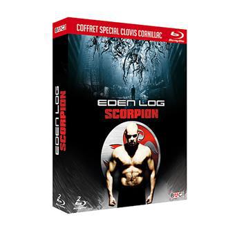 Coffret Blu-Ray Clovis Cornillac - 2 films : Eden Log/Scorpions