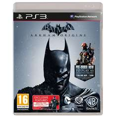 Batman Arkham Origins sur PS3/Xbox 360
