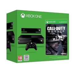 Console Xbox One + Call of Duty Ghosts (En stock)