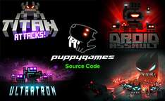 humble weekly sale : Ultraton, Droid Assault, Revenge of the titan, Titan attacks