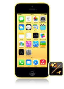 Apple iPhone 5c 16Go Jaune (avec ODR 50€)
