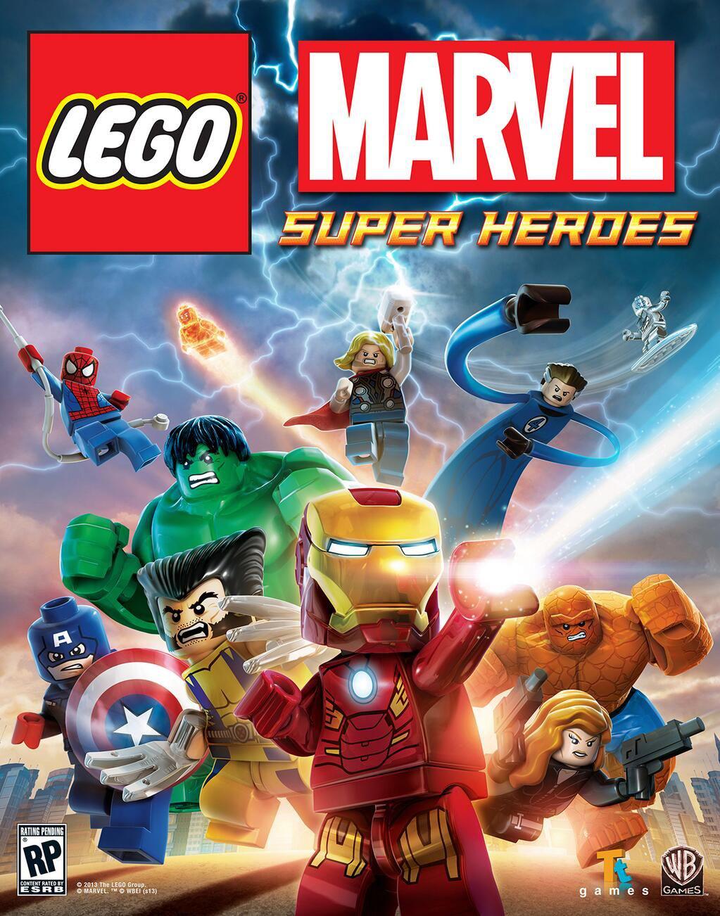 Lego Marvel Superheroes sur PC (Dématérialisé - Steam)