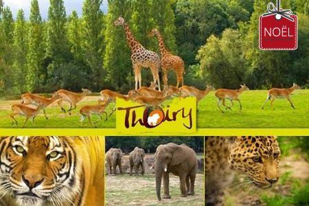 Entrée Parc Zoologique de Thoiry
