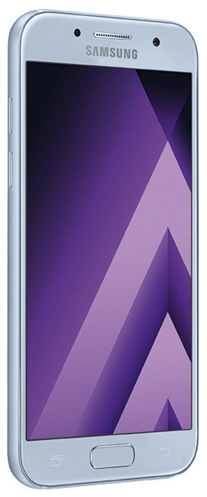 "Smartphone 4,7"" HD Super Amoled Samsung Galaxy A3 (2017), 2 Go Ram, 16 Go Rom, Bleu"