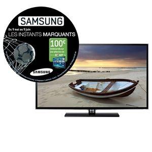 """Téléviseur LED 46"""" LED Samsung 46ES5500 avec ODR (-100€)"""