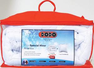 Pack Couette + Oreiller DODO (différentes tailles disponibles) - Ex : Couette 140 x 200 + 1 oreiller 60 x 60