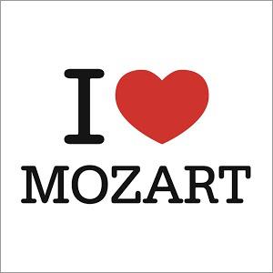 "Album 30 titres ""I love Mozart"" offert"