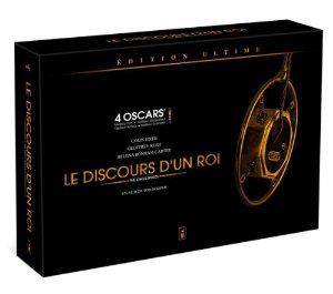 Le Discours d'un roi - Ultimate Edition (Double DVD collector du film + 1 Blu-ray + 1 livre + 1 affiche collector)