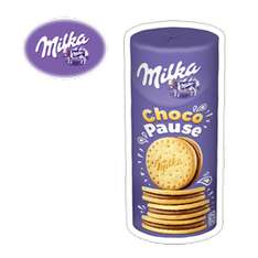 3 paquets de biscuits Milka Choco Pause 260g